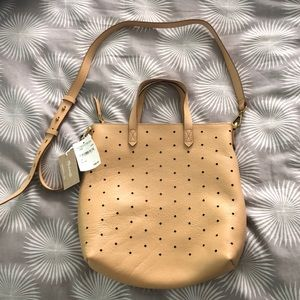 Madewell tan bag